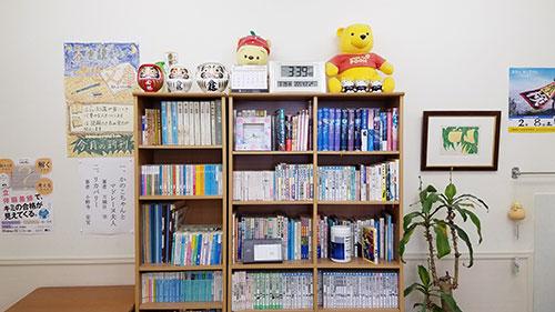 ナビ文庫の本棚